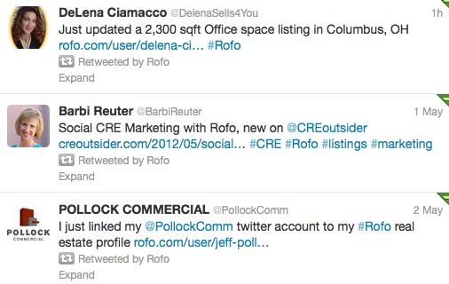 Rofo app for twitter