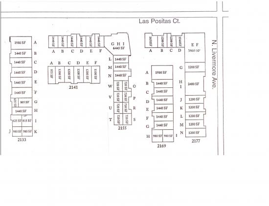 3 860 Square Foot Office Space For Lease 2133 2177 Las Positas Ct