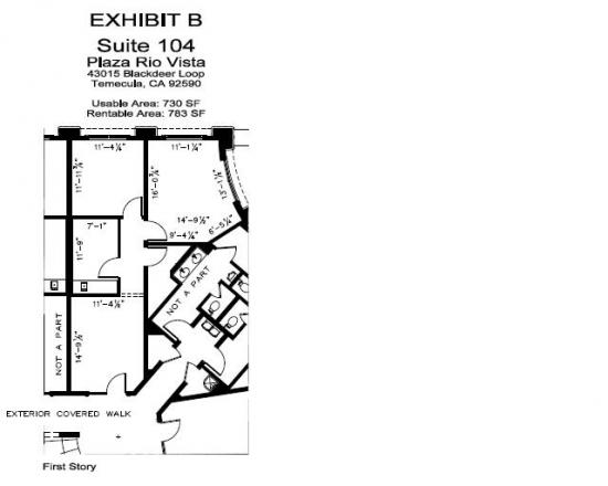 1 024 Square Foot Office Space For Lease 43015 Blackdeer