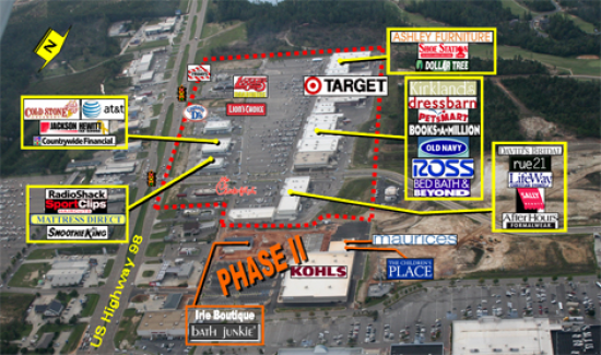 1 600 Square Foot Retail Space For Lease 6143 Us Hwy 98