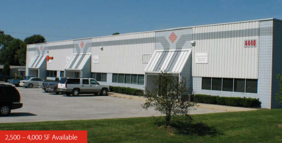 2500 Square Foot Industrial Space For Lease At 4440 W High School Rd