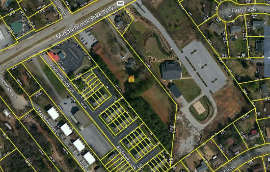 Land Available For Sale @ 9036 Middlebrook Pike, Knoxville, TN 37923