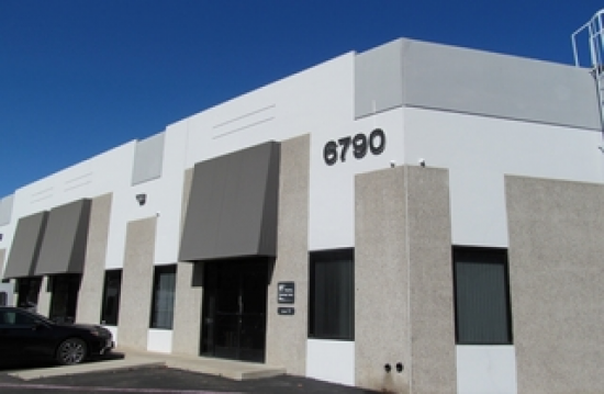 3090 Square Foot Industrial Space For Lease At 6790 Top Gun Street