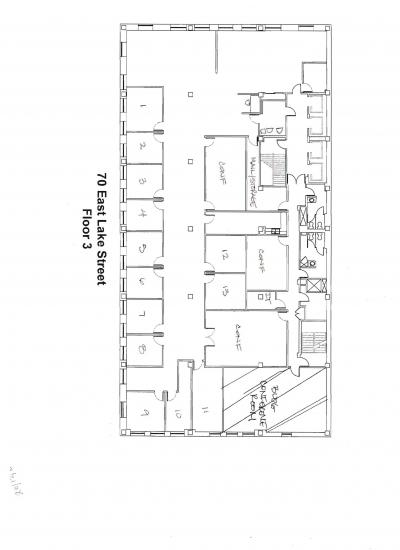 4977 Square Foot Office Space For Lease 70 East Lake Street
